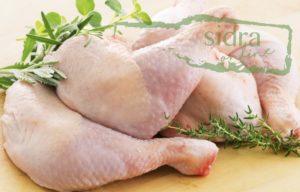 Un pollo para la receta