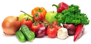 Verduras con sidra